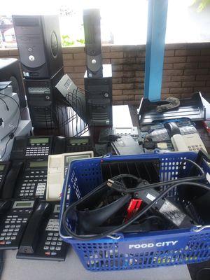 Computer parts computer s monitercs for Sale in Phoenix, AZ