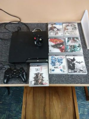 PlayStation 3 bundle with games for Sale in Washington, DC
