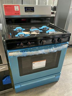New! Stainless Steel Frigidaire 5 Burner Gas Range! 1 Year Manufacturer Warranty Included for Sale in Gilbert,  AZ