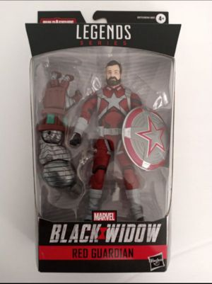 Marvel Legends Red Guardian Collectible Action Figure Toy with Crimson Dynamo Build a Figure Piece for Sale in Chicago, IL