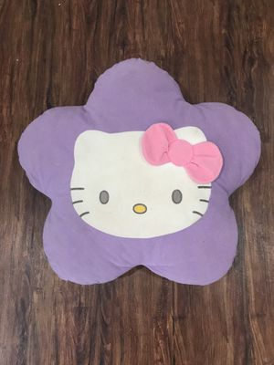 Hello kitty decor pillow for Sale in Houston, TX