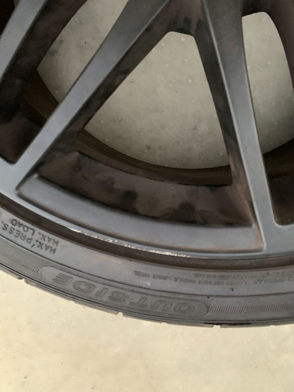"""18"""" AUDI OEM RIM WITH TIRE A4/S4"""