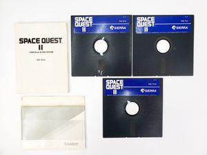 "Sierra - Space Quest II - 5.25"" Floppy Disks & Hint Book (1987) - IBM PC Tandy for Sale in Trenton, NJ"