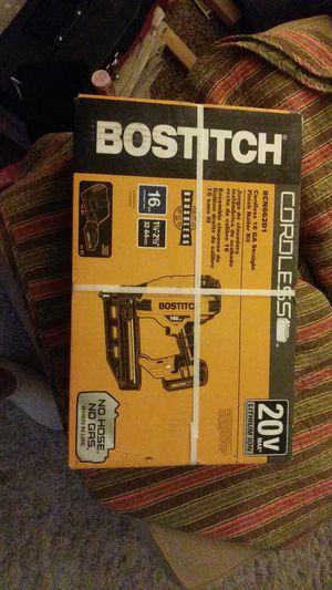 Bostitch cordless 16ga. Finish nailer for Sale in Carmichael, CA