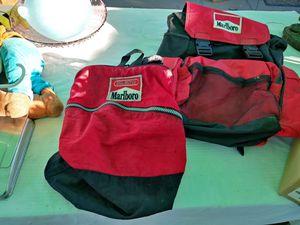 Marlboro backpacks $25 for both for Sale in Stockton, CA