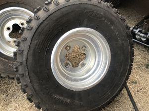 Atv ITP tires with wheels 20x11-9 for Sale in Lubbock, TX