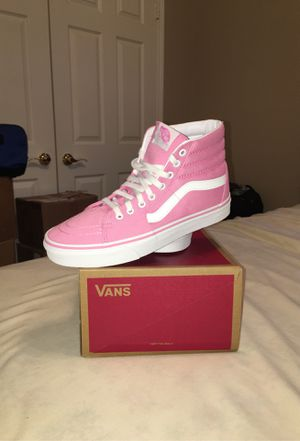Brand NEW Hot Pink Hightop Vans for Sale in Dallas, TX