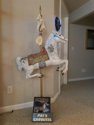 Hand Painted Carousel Horse $200 obo for Sale in Spokane, WA