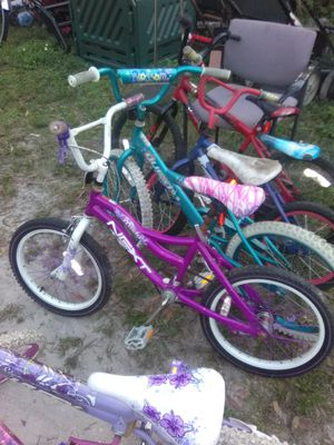 """12""""/16""""/20"""" bikes 15.00 each for Sale in Tampa, FL"""