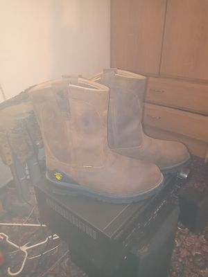 Leather work boots for Sale in Vancouver, WA