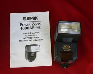 Sunpak 4000AF flash for Sale in Brisbane, CA