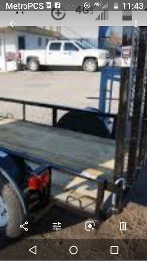 Great 4 by 8 trailer, it's a worker for Sale in Saint Petersburg, FL
