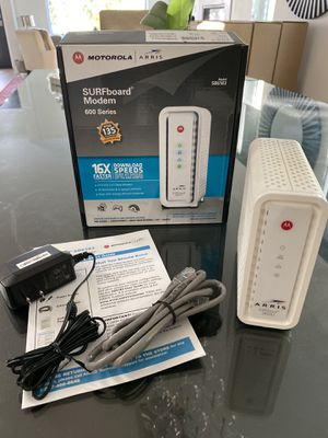 Motorola | ARRIS SURFboard Modem 600 Series for Sale in Los Angeles, CA