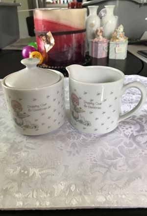 Precious moments coffee & creamer set for Sale in Middleburg Heights, OH