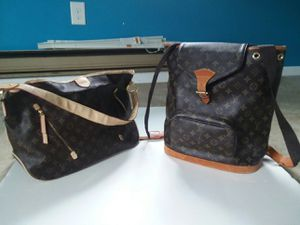 Louis Vuitton Bag and Backpack for Sale in Lacey Township, NJ