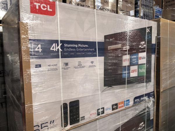 TCL Roku 65 inch 4K TV 65s423 smart with Warranty