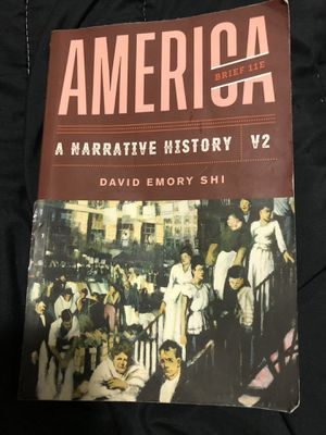 HISTORY TEXTBOOK AMERICA A NARRATIVE STORY V2 $30 for Sale in Plano, TX
