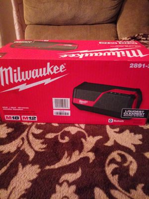 Milwaukee Wireless Jobsite Speaker for Sale in Riverside, CA