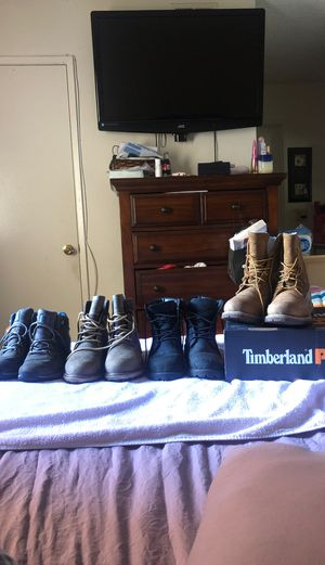 Timberland Work Boots (Women size 7) for Sale in Corona, CA