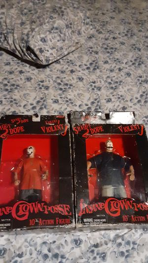 Insane clown posse orginal action figures in box for Sale in Columbus, OH