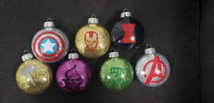 Avegers set of ornaments for Sale in Long Beach, CA