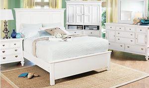 Bel mar dresser in white (dresser only - mirror not included) for Sale in Macon, GA