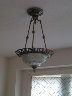 Set of 4 Antique lighting fixtures for Sale in Bartow, FL