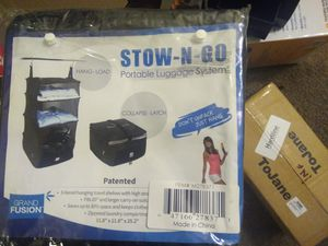 Stow N Go Portable Luggage for Sale in North Augusta, SC