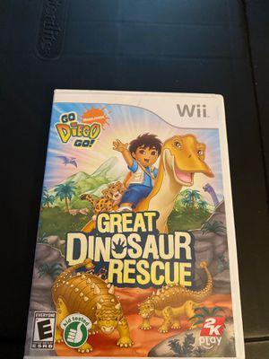 Great Dinosaur Rescue Nintendo Wii for Sale in Tucson, AZ