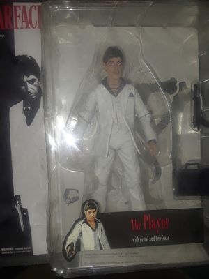"""- Brand NewScarface 7"""" Action Figure - The Player in White Suit for Sale in Las Vegas, NV"""