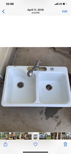 Sink with faucet for Sale in Amarillo, TX