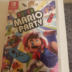 Super Mario Party Netendo Switch for Sale in Casa Grande, AZ