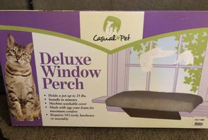 Cat Deluxe Window Perch! Brand New! $20 for Sale in Marlborough, MA