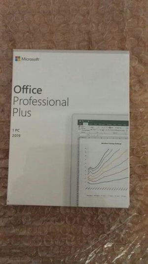 Microsoft Office Professional Plus 2019 for Sale in San Diego, CA
