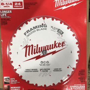 Milwaukee 8 1/4 Blade For Table Saw for Sale in Alhambra, CA