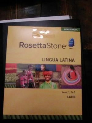 Rosetta Stone Latina level 1,2&3 for Sale in Stockton, CA