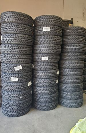 235 75 15 GOODYEAR ALL TERRAIN TIRES for Sale in Colton, CA