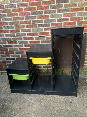 Black Shelving Cubby Storage for Sale in Rutherford, NJ