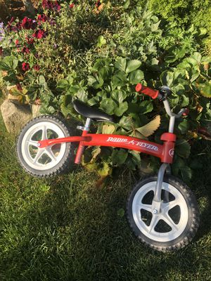 Radio flyer balance bike, barely used for Sale in Bremerton, WA