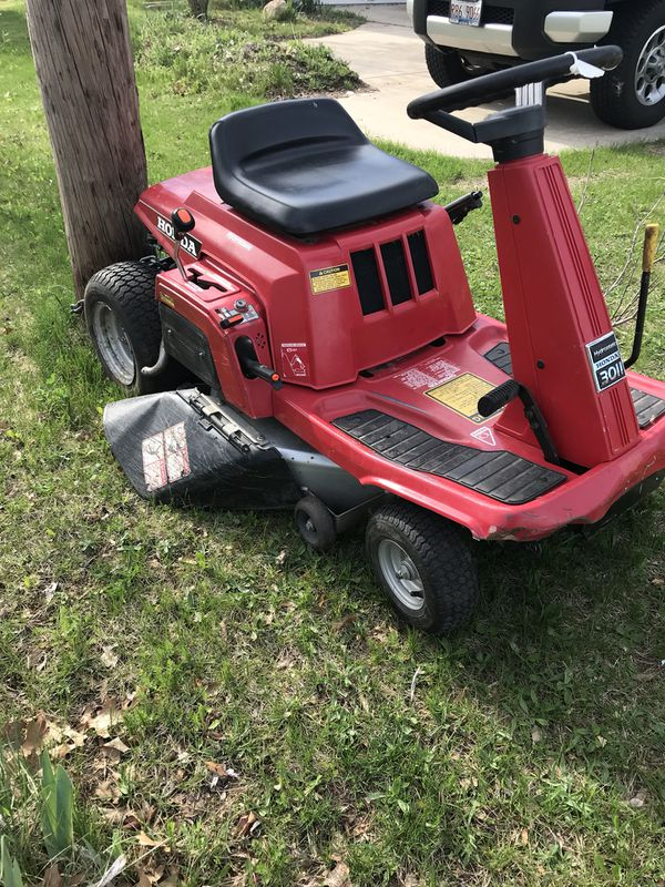 Honda 3011 Hydrostatic Riding Mower For Sale In Portage