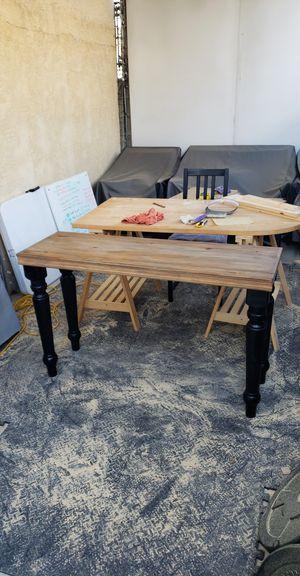 Dark Walnut Entry Table for Sale in Wilmington, CA