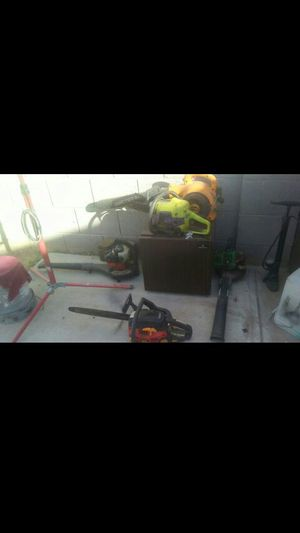 2 chain saws 3 leaf blowers for Sale in Avondale, AZ