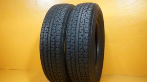 2 used tires ST 175/80/13 POWER KING TOWMAX for Sale in Clearwater, FL