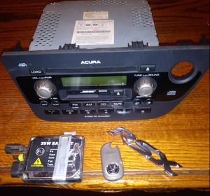 02 -06Acura RSX parts n stock radio,spare cover, trunk cover for Sale in Monrovia, CA