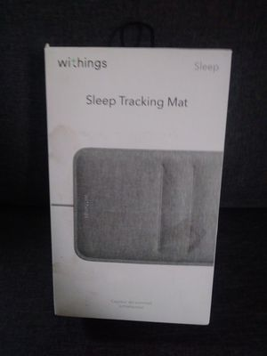 Withings sleep tracking mat for Sale in Redford Charter Township, MI