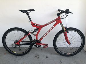 2000 Specialized S-WORKS FSR XC Full Suspension Mountain Bike for Sale in Hollywood, FL