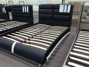 Bed frame with mattress for Sale in Corona, CA