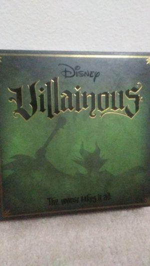 Disney Villainous board game for Sale in Kissimmee, FL