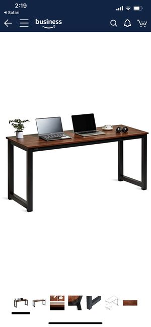 Desk Large Workstation (Brand New) for Sale in Fresno, CA