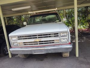 1985 c20 utility bed run but has a knock for Sale in Phoenix, AZ